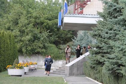 Учебную эвакуацию и учения персонала в рамках Всероссийской штабной тренировки провел филиал Карачаево-Черкесскэнерго