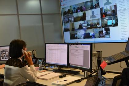 Мособлэнерго провело противоаварийную тренировку с использованием видеоканалов диспетчерской связи