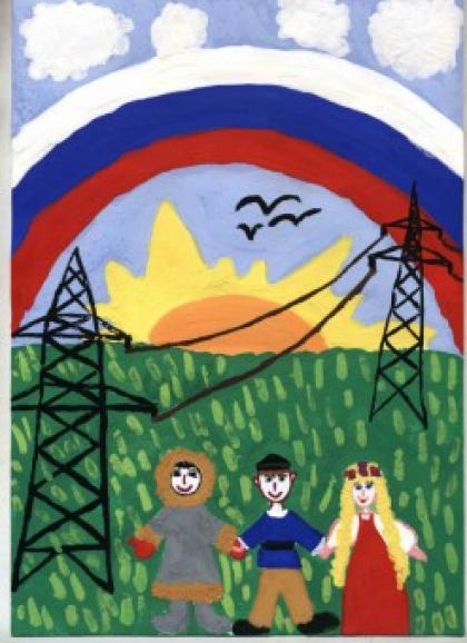 день энергетиков рисунки детей