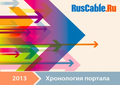 Хронология портала RusCable.Ru за 2013 год