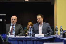 Александ Гусев (слева) Александр Волошин (справа)
