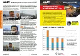 RusCable Insider Digest №49 от 4 сентября 2017 года