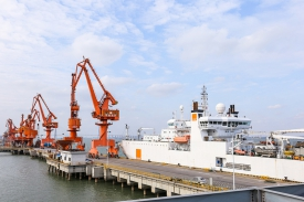 HENGTONG delivers 3000km submarine optical cable to Chile, with a ceremony to celebrate overseas 10,000km delivery