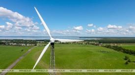 Около $40 млн иностранных инвестиций привлечено для строительства крупнейшего в Беларуси ветропарка