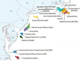 Отраслевой регулятор американского штата Нью-Джерси одобрил строительство объектов шельфовой ветровой генерации мощностью до 2,7 ГВт