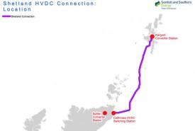 Началась прокладка подземных кабелей в рамках проекта строительства высоковольтного соединения постоянного тока Shetland Link