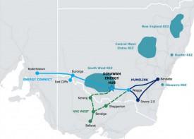 В австралийском штате Новый Южный Уэльс будет построен центр чистой  энергии мощностью 2,5 ГВт