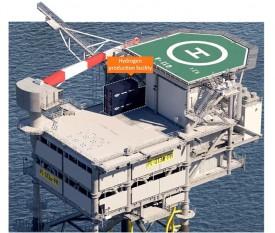 В водах Северного моря будет размещена первая в мире шельфовая установка по производству зеленого водорода