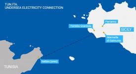 Начались исследования морского дна в рамках проекта трансграничного HVDC  соединения между Италией и Тунисом