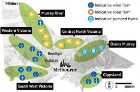 Правительство австралийского штата Виктория представило шесть проектов модернизации энергосистемы в рамках создания зон возобновляемой энергии