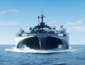 Разработано первое судно-робот для перевозки 200 МВт*ч электроэнергии