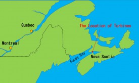 Японская и ирландская компании заключили соглашение о строительстве приливной электростанции в Канаде