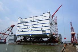 В Китае установлена крупнейшая в мире шельфовая преобразовательная подстанция