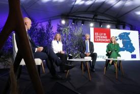 Состоялось торжественное открытие третьего трансграничного соединения между энергосистемами Эстонии и Латвии