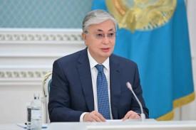 Токаев заявил о старте строительства железнодорожной ветки для расширения транзита из КНР