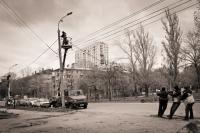 Городские соревнования по перетягиванию проводов. Автор: Михайлова Ирина, студент СамГТУ