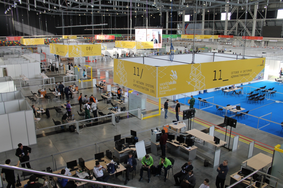 WorldSkills,RusCable.Ru,Екатеринбург, репортаж