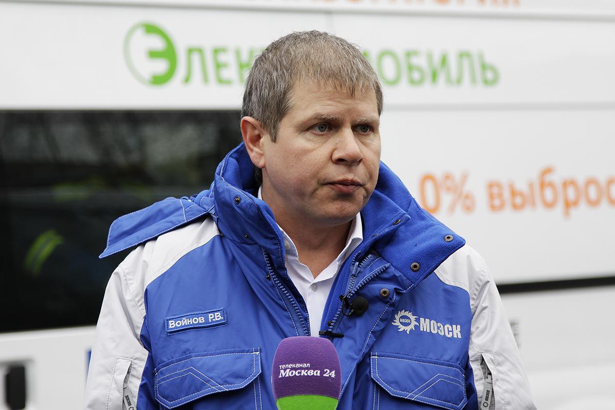 директор филиала «Московские кабельные сети» Роман Владимирович Войнов