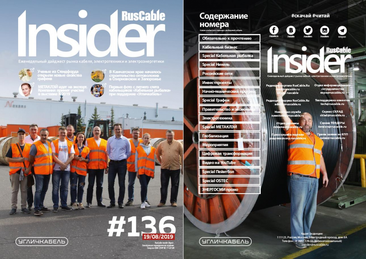RusCable Insider Digest № 136