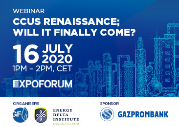 The second webinar of Energy Delta Institute (EDI) in anticipation of the SPIGF 2020 will be held on July 16, 2020