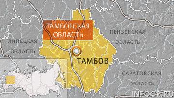 Тамбов на карте россии с городами