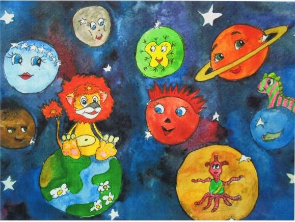 темы детских рисунков: