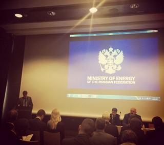 Заместитель Министра энергетики РФ Вячеслав Кравченко посетил выставку СIGRE в Париже