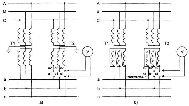 фазируемого трансформатора