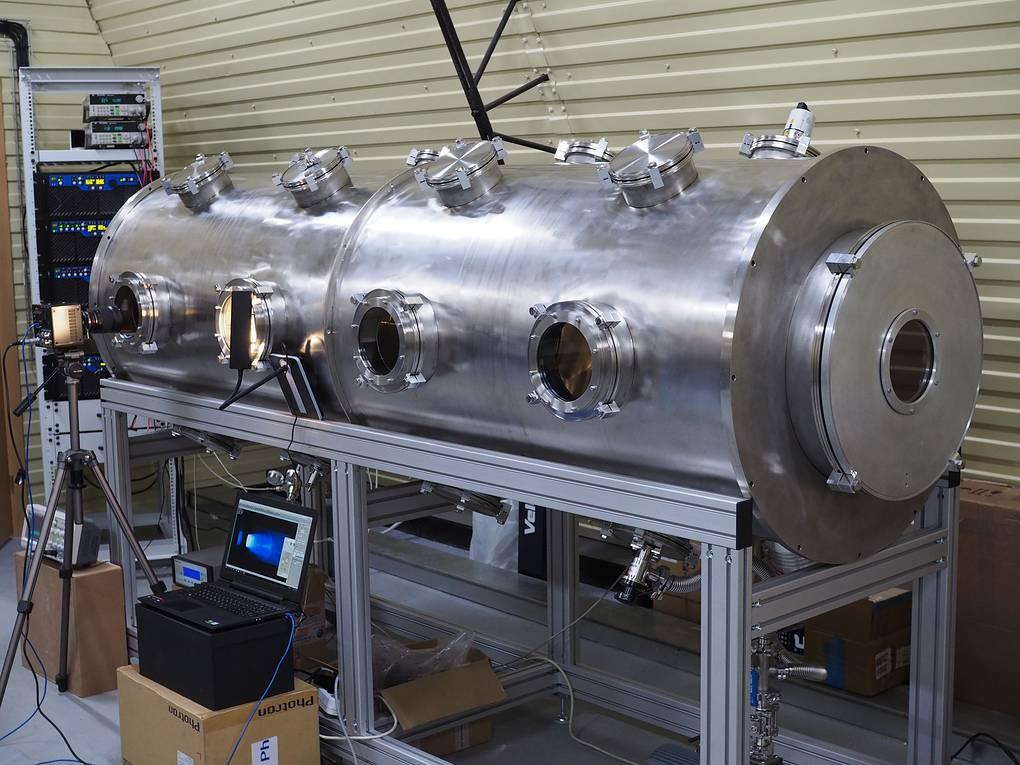 Стенд для испытаний магнитоплазменного динамического двигателя © Суперокс