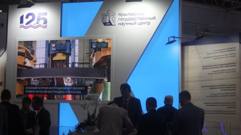 Стенд Крыловского государственного научного центра Mil.Press, Дмитрий Жаворонков