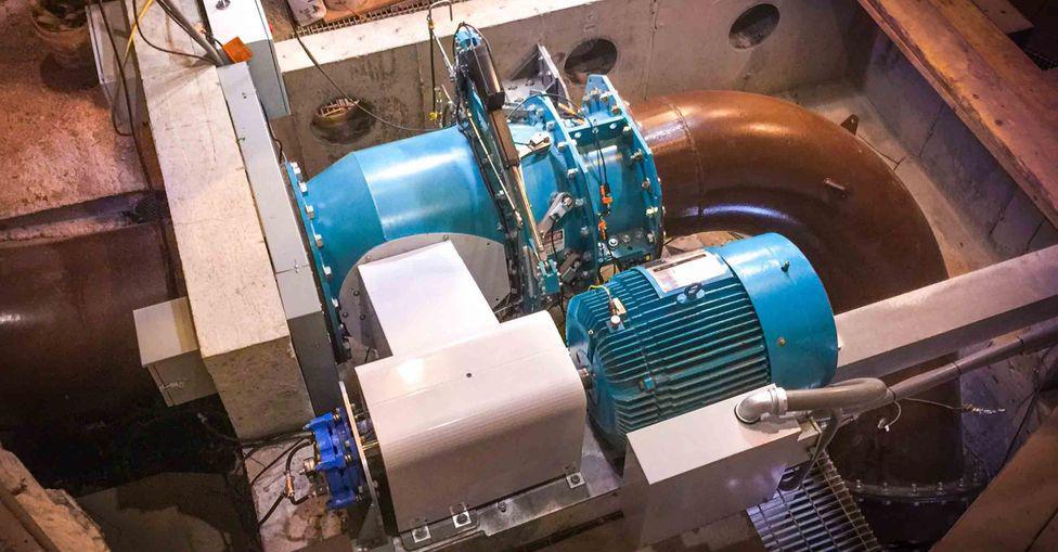 Компания Natel Energy уже установила турбины, которые будут более дружелюбными к экосистеме в штате Мэн, США