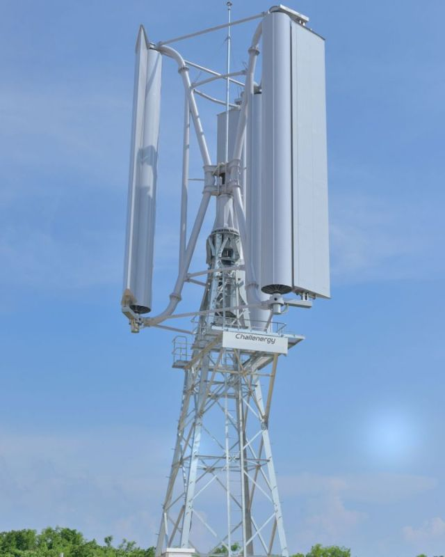 Действующие модели турбин Challenergy пережили свои первые тайфуны со значительной скоростью ветра