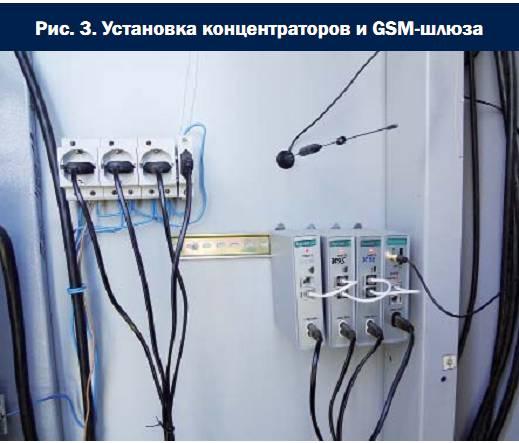 Установка электросчётчиков