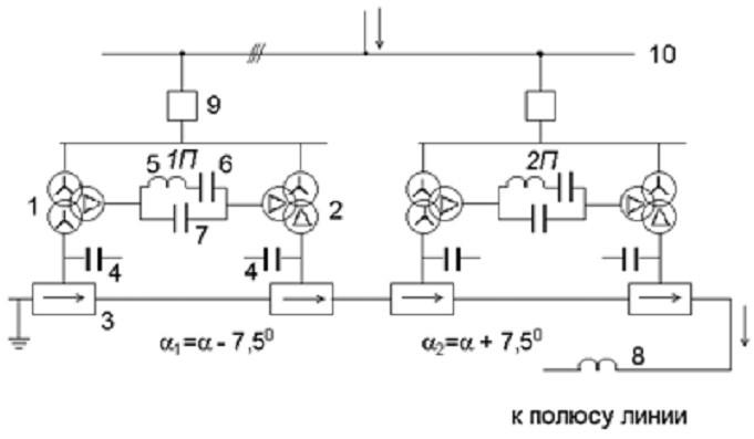 Схема квази-24-пульсного