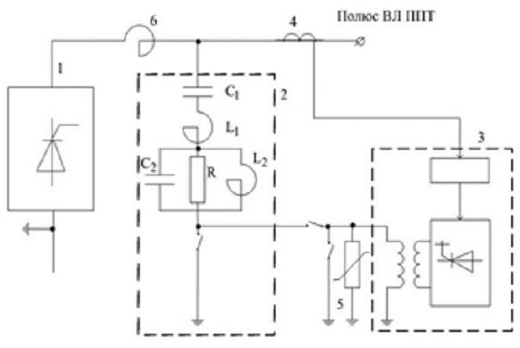 Схема гибридного фильтра