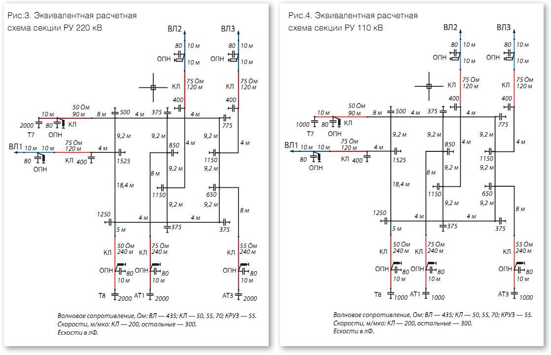 трансформаторы напряжения abb 110 кв схема